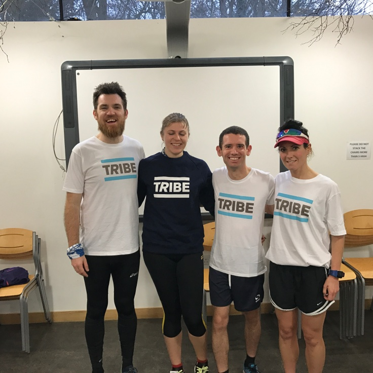 The Norwich TRIBE runners