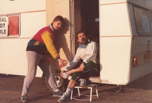 Norwich Ollerton run October 1984 spray in the fens 3