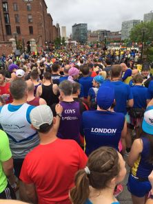 marathon pre-run view