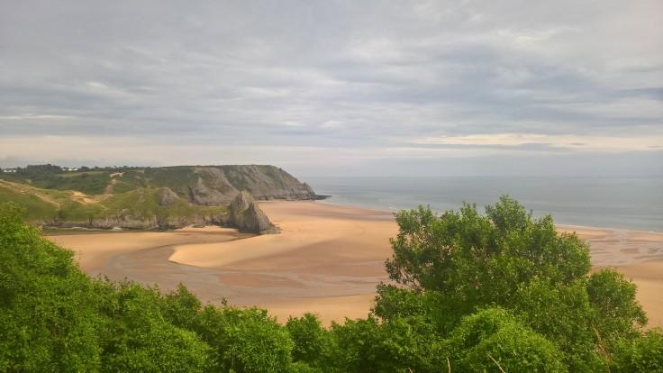 Three Cliffs Bay Wales